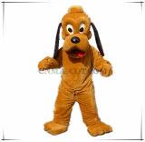 Traje dos desenhos animados da mascote de Pluto do cão do traje da pele da alta qualidade