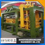 Máquina de fabricación de ladrillo automática del bloque Qt6-15