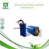 bateria de lítio 2000mAh de 2s1p 7.4V 18650 para a câmera do CCTV