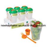 Nahrungsmittelspeicher-Nahrungsmittelgrad-Salat-Schüttel-Apparat