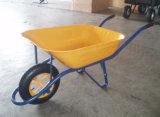 건축 분말 코팅 외바퀴 손수레 Wb6400