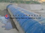 A alta qualidade infla a represa da água/infla a represa de borracha