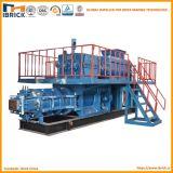 機械装置(JKR35)を作る小さい二重段階の真空の押出機の粘土の煉瓦