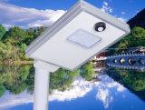 IP65 im Freien integriertes 6W alle in einem Solar-LED-Straßenlaterne