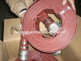 PVC Layflat Água Irrigação Mangueira com CE Coupling