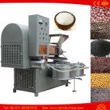 Prensa de petróleo de cacahuete del girasol del coco de la soja del cacahuete que hace la máquina