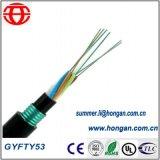 Cabo da fibra óptica GYFTY53 extensamente na aplicação