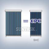 De ZonneCollector van de Pijp van de Hitte van CPC (SHC) met ZonneKeymark, En12975