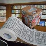 Sudokuのトイレットペーパーの習慣によって印刷されるペーパーティッシュタオルを負かしなさい