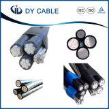 Power/PVC/XLPE/Overhead zusammengerolltes Kabel ABC-Luftkabel 0.6/1 KV
