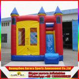 Castillo inflable de la venta caliente, patio inflable, trampolín inflable