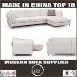 L-förmiges Leder-unten Sofa der modernen Hauptmöbel-2017