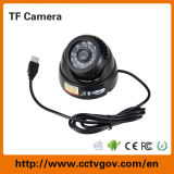 Mini USB Dome TF Card Camera di visione notturna 0.3mega Pixel