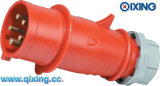 16A Three Phase Gland Plug с CE Certification