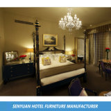 焦茶の現代ホテルの別荘の寝室の家具(SY-BS3)