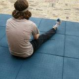 Блокируя циновка резины гимнастики пригодности Speckled