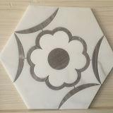 Mosaico Waterjet del migliore fiore di prezzi per la decorazione interna