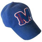 刺繍が付いている方法によって洗浄される野球帽