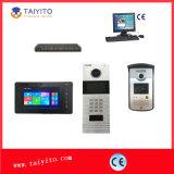 """Teléfono atado con alambre del IP 7 """" Videodoor del TCP para un edificio/un chalet"""