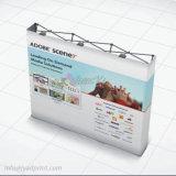 Aluminio plegable Pop Up telón de fondo Banner para mostrar la feria