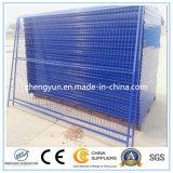Temporärer Stahlaufbau-Zaun