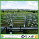 Vieh täfelt, Hochleistungs, 6 Schienen, 69 x 42 ovale Schiene, 50 x 50 Pfosten