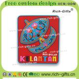 Kundenspezifische fördernde Geschenk-Dekoration-Maschine-Kühlraum-Magnet-Andenken Malaysia (MEINE RC-)