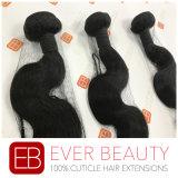 Estensione peruviana dei capelli umani di Remy dell'onda del corpo di modo