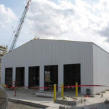 軽い鋼鉄構築デザイン大きいスパンの鉄骨構造の倉庫