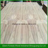 3,2 mm, 3,6 mm, 5,0 mm de alta calidad CC / CC teca de chapa de madera contrachapada