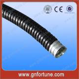 Connecteur rapide de vis pour la pipe flexible galvanisée en métal