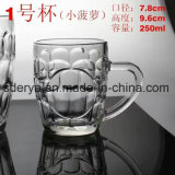 Чашка Sdy-J0070 пива стеклянного сбывания стеклоизделия чашки горячего стеклянная