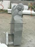 판매를 위한 최고 새기는 아이들 조각품 기념탑 묘석