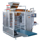 Запечатывание 4-Стороны белого сахара и многополосная машина упаковки