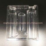 Kundenspezifische Plastikpaket-Tellersegmente für Kosmetik mit Sammelpack