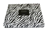 Rectángulo de regalo de papel Cebra-Rayado hermoso de encargo (YL-LB39)