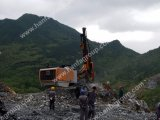 穴の穴鉱山鋭い装置DTHの掘削装置