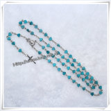 卸し売り機械切りのトルコ石の中心のビードの数珠、宗教数珠(IOcr122)