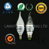 3W Aluminum Die Casted LED Candle Light con CE