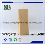 Sacchetto impaccante del caffè del quadrato della parte inferiore di marchio di stampa del campione