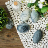 Pebble Shaped Ceramic Início Perfumado decorativa (AM-52)