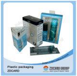 명확한 서류상 플라스틱 관 접히는 포장 상자