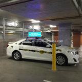 Muestra al aire libre de los primeros del taxi del PH3 SMD LED, muestra de la tapa del taxi del LED