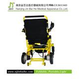 Fábrica de pouco peso da cadeira de rodas da potência da liga de alumínio