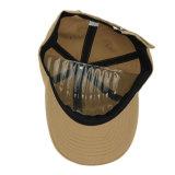 Sombrero de béisbol de encargo barato del vaquero del bordado de color caqui de encargo 3D