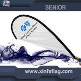 カスタマイズされた飛行上陸海岸表示旗の広告、旗竿の旗