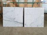 Prix de marbre blanc neuf de Guangxi de brame de marbre blanche pure par mètre carré