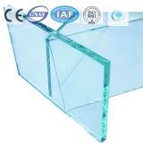 color azul marino de 2-19m m/vidrio de flotador teñido/claro para el edificio/la decoración