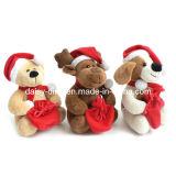 20cm New Lovely Plush Christmas Bear