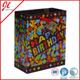 Le cadeau de luxe de produits de fête d'anniversaire met en sac des sacs en papier d'anniversaire